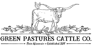 Green Pastures Cattle Logo